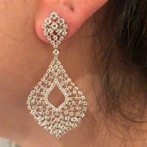 Costume chandelier earrings